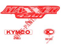 DIFFERENTIEL ARRIERE MAXXER 450I SE IRS EURO 4 450 kymco-moto MAXXER MAXXER 450I SE IRS EURO 4 18
