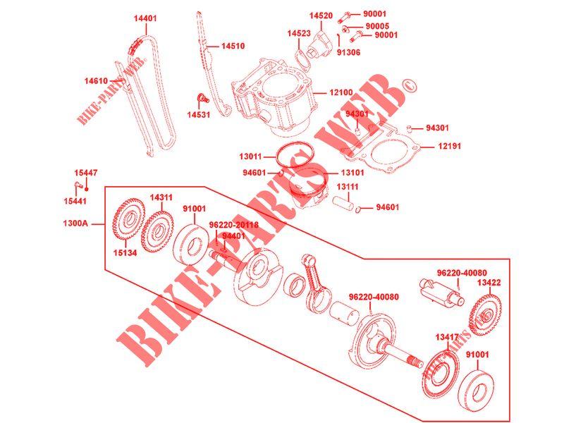 quad kymco pieces detachees