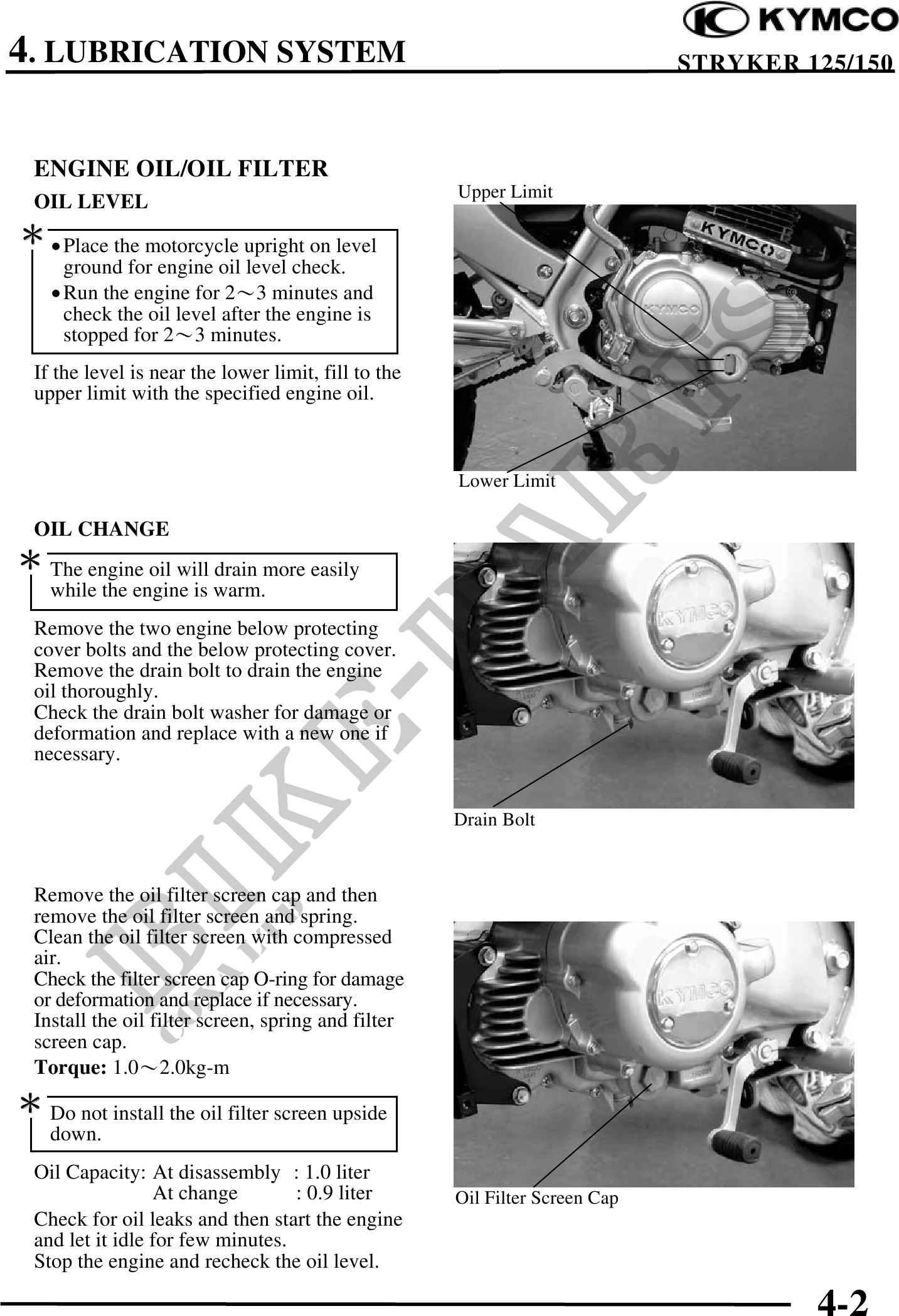 stryker 125 Manuel atelier : Page 53